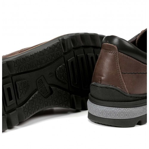 Nordic line leather ankle...